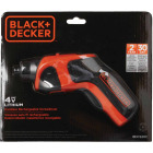 Black & Decker 4-Volt MAX Lithium-Ion 1/4 In. Cordless Screwdriver Image 6