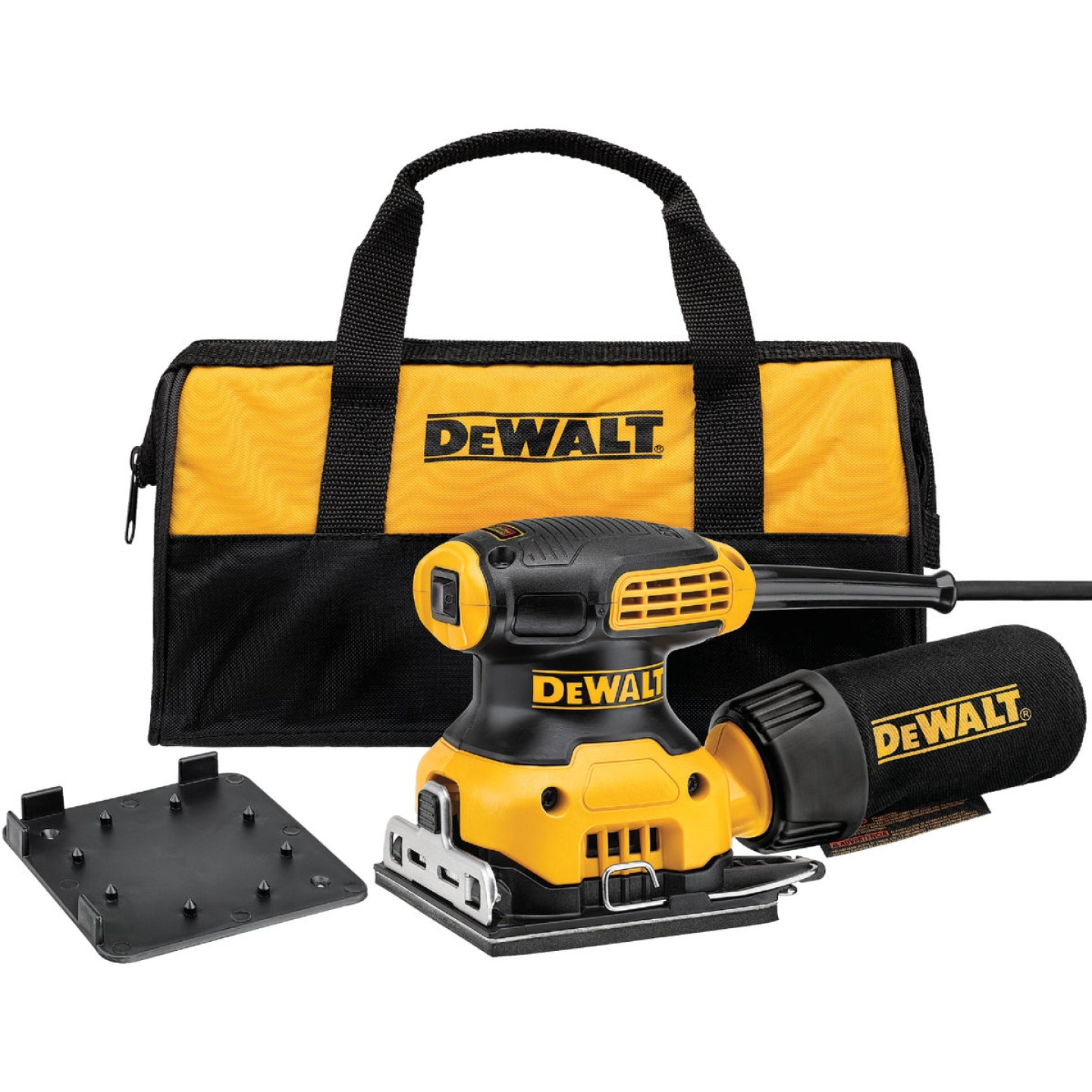 DeWalt 1/4 Sheet 2.3A Finish Sander Image 1