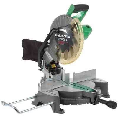 Metabo HPT 10 In. 15-Amp Compound Miter Saw with Laser