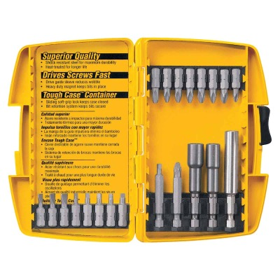 DeWalt 21-Piece Screwdriver Bit Set