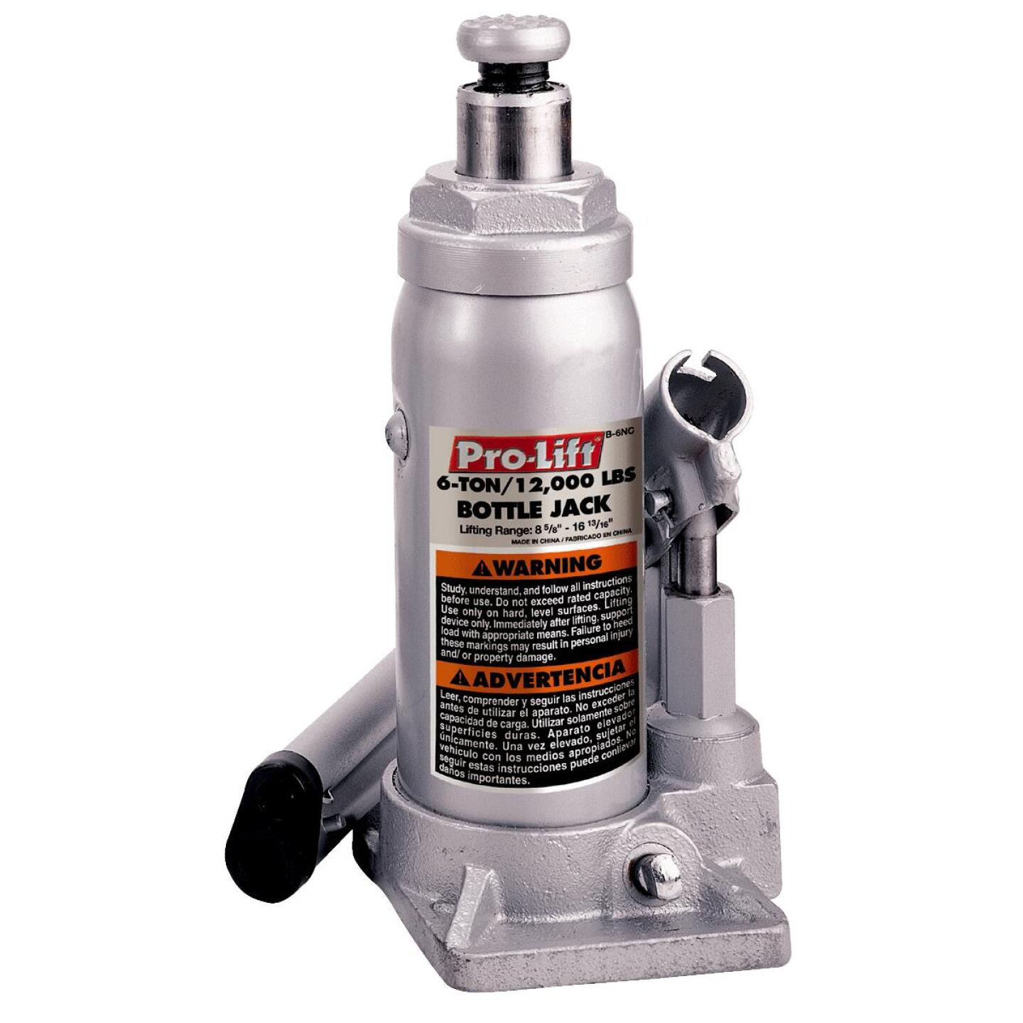 Pro-Lift 6-Ton Hydraulic Bottle Jack Image 1