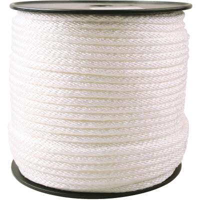 Do it 3/8 In. x 450 Ft. White Braided Nylon Rope