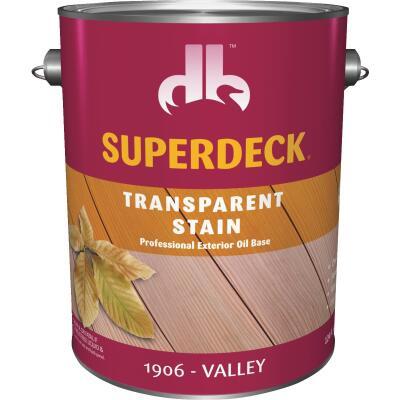 Duckback SUPERDECK VOC Transparent Exterior Stain, Valley, 1 Gal.